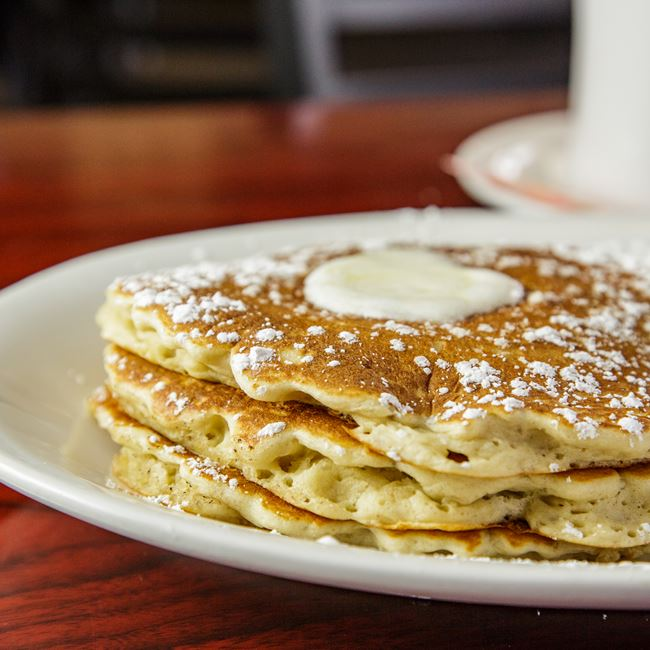 The Original Pancakes at BB's (Build-a-Breakfast/Build-a-Burger)
