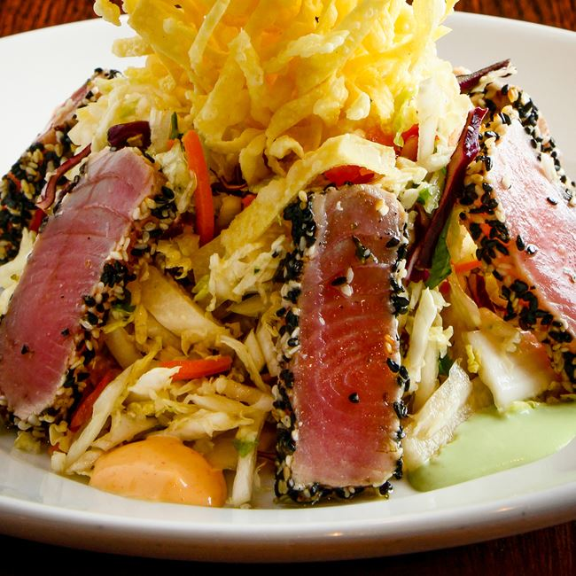 Ahi Tuna Salad at Sprecher's Restaurant & Pub