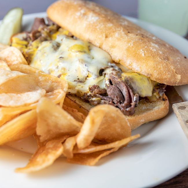 Philly Cheese Steak at The Bar