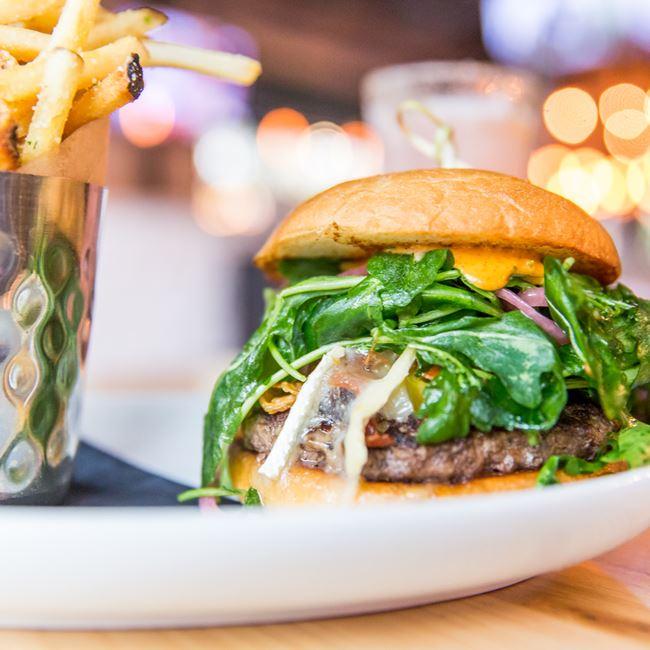 Homegrown Burger at Homegrown Tap & Dough
