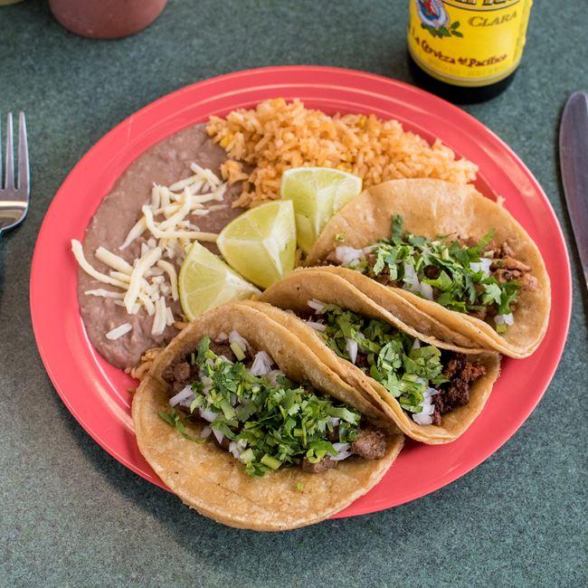 Taco Combo at Taqueria Gonzalez