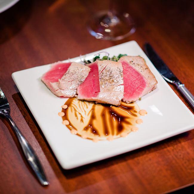 Seared Tuna at Root Bistro & Wine Bar