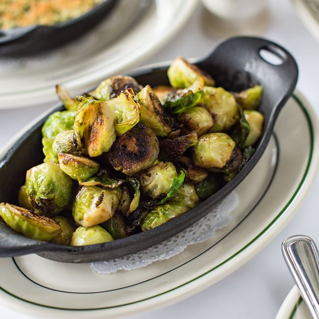 Roasted Brussels Sprouts at Mr. B's - A Bartolotta Steakhouse