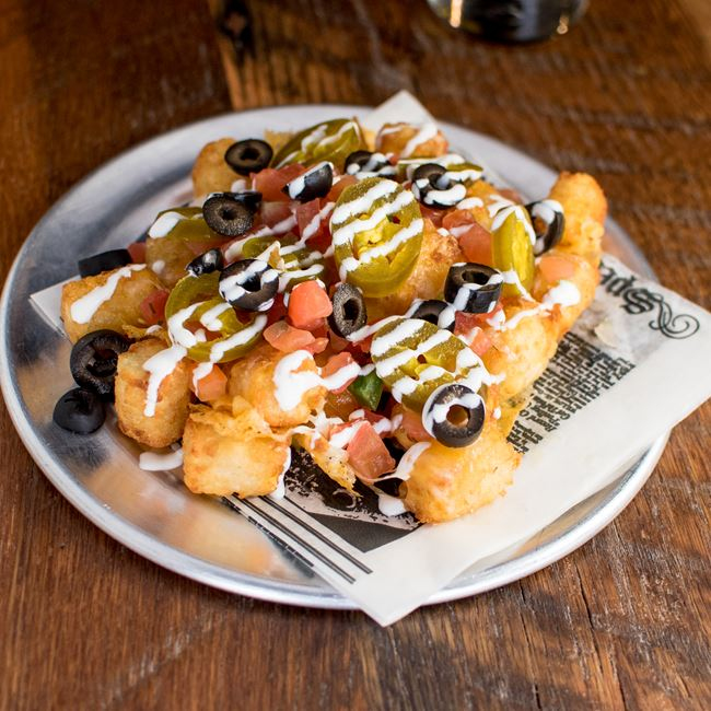 Totchos at The Fermentorium Brewery and Tasting Room