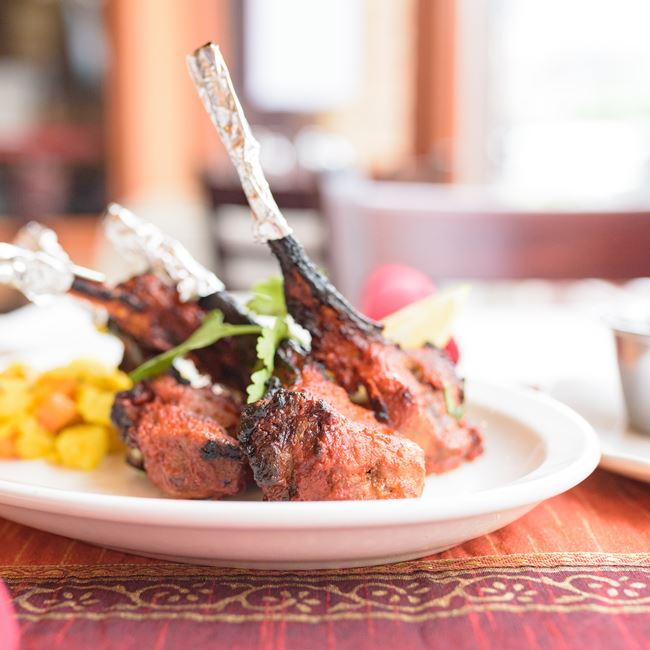 Podina Lamb Chops at Shalimar
