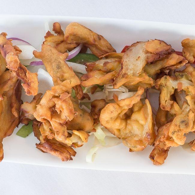 Onion Bhaji at Bollywood Grill
