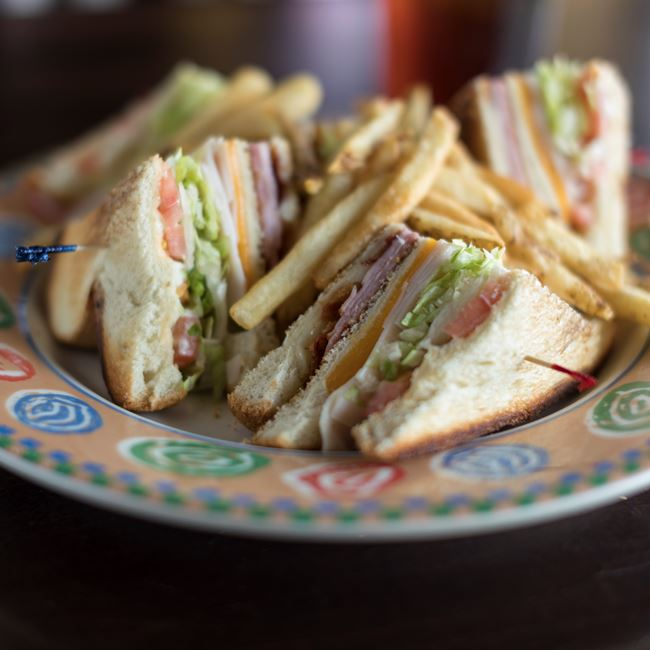 Traditional Clubhouse Sandwich at Ground Round