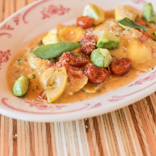 Four Cheese Ravioli at Brandywine
