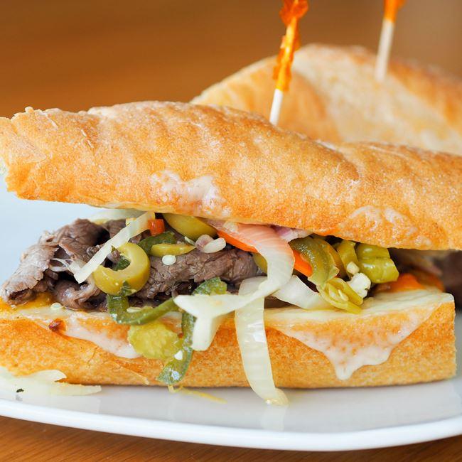 Italian Beef Sandwich at Graze