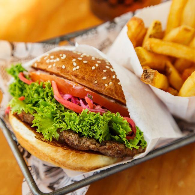 Ruckus Burger at The Ruckus