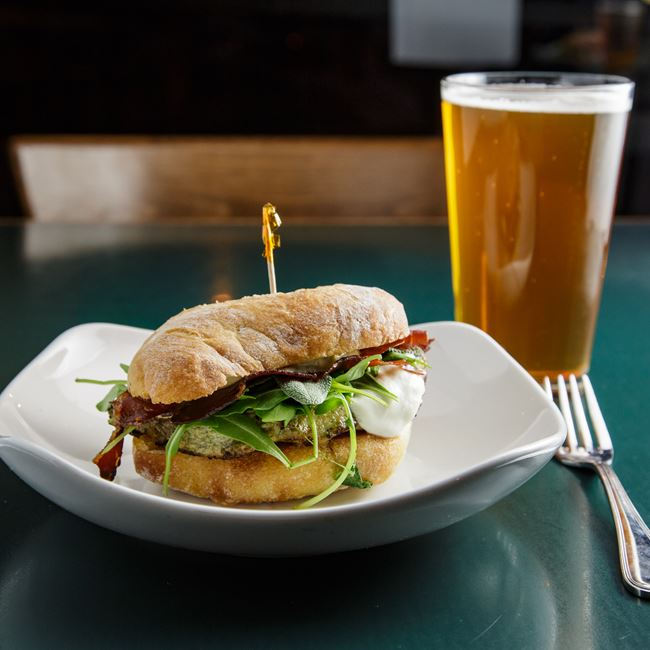 Saltim Boccawich at Jacs Dining and Taphouse