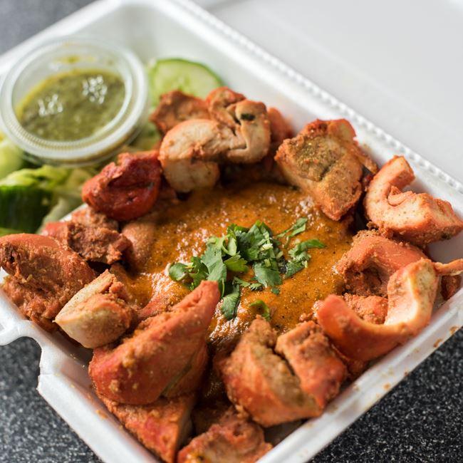 Chicken Tikka at Cafe India
