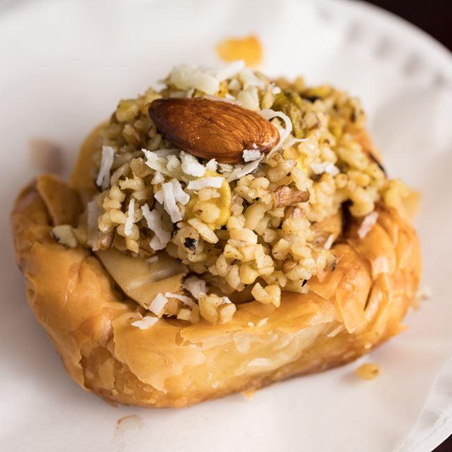 Mabrumeh at Mamoun's Falafel Restaurant