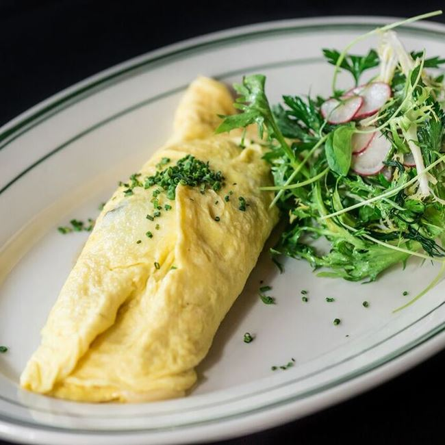 French Omelet at Luxbar