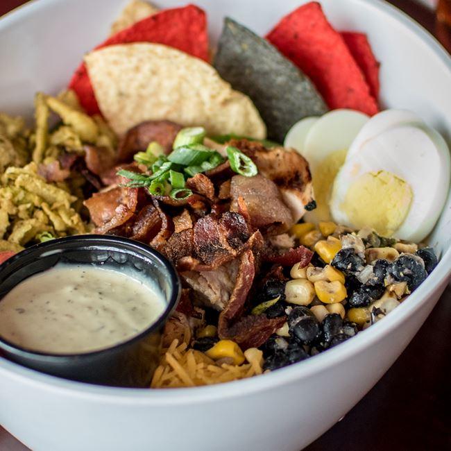 Southwest Club Salad at SCONNIEBAR