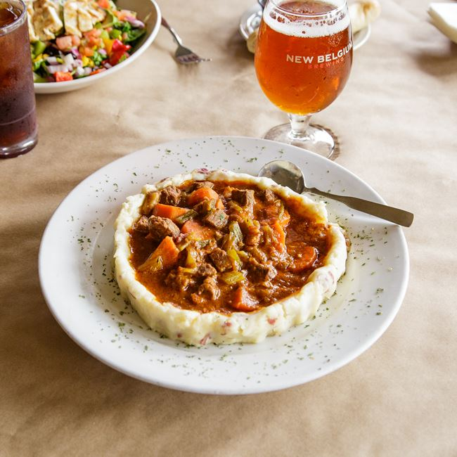 Guinness Beef Stew at Babe's Grill & Bar