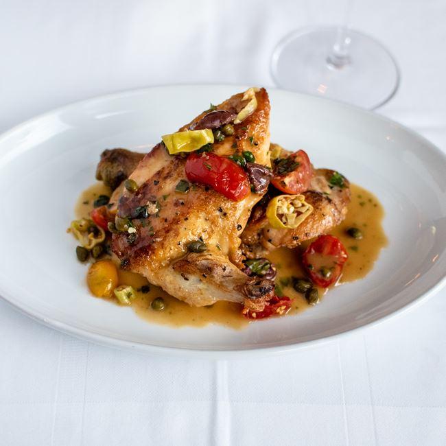 Braised Chicken at Milwaukee ChopHouse