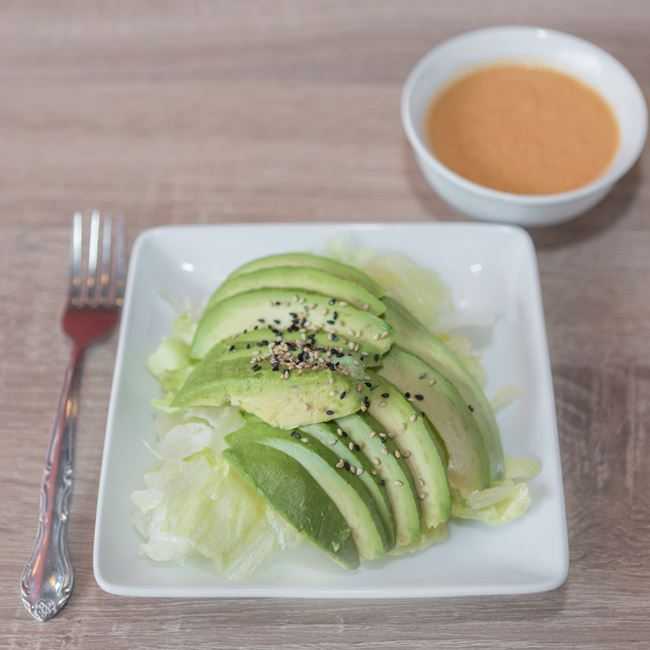 Avocado Salad at Sushi Express