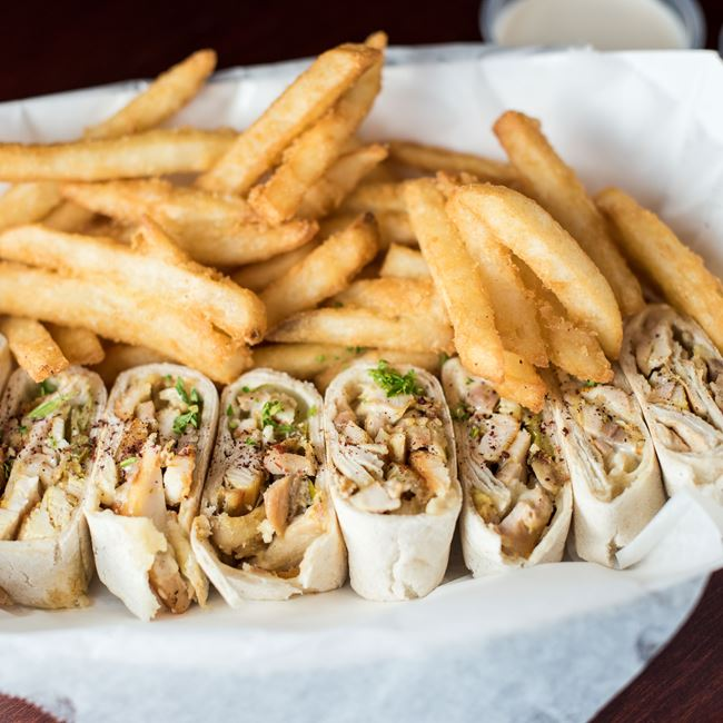 Chicken Shawarma House - Regular Pita Combo at Shawarma House