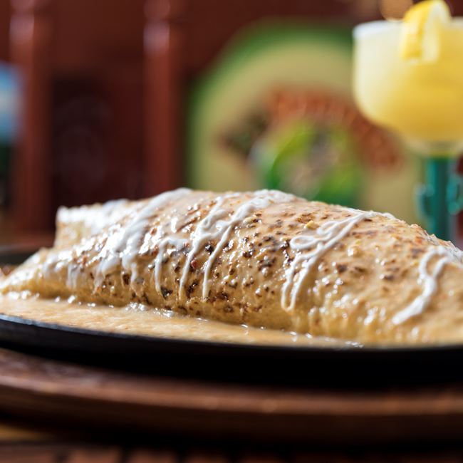 Parrillada Burrito at Los Jaripeos