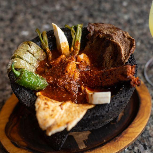 Molcajete el Mezcal at El Mezcal Mexican Restaurant
