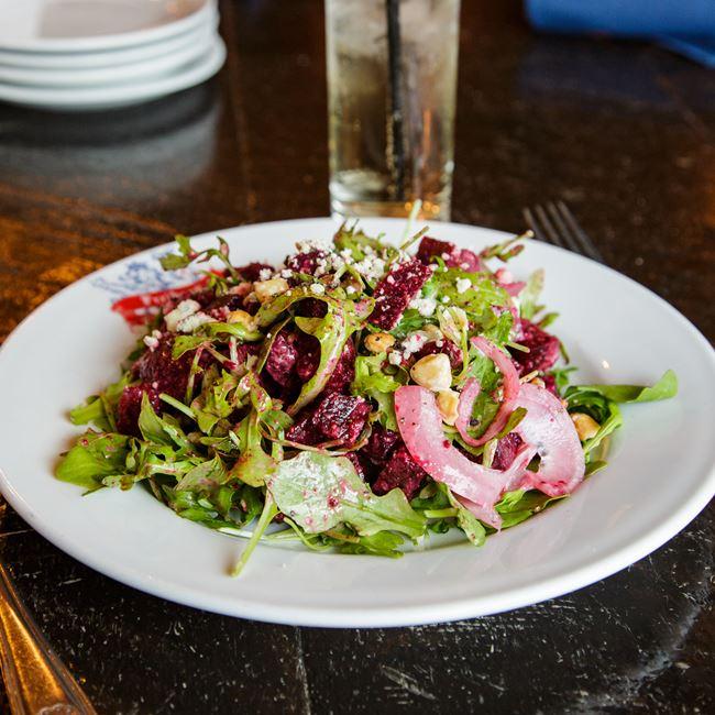 Beet Salad at Freiburg Tap Haus