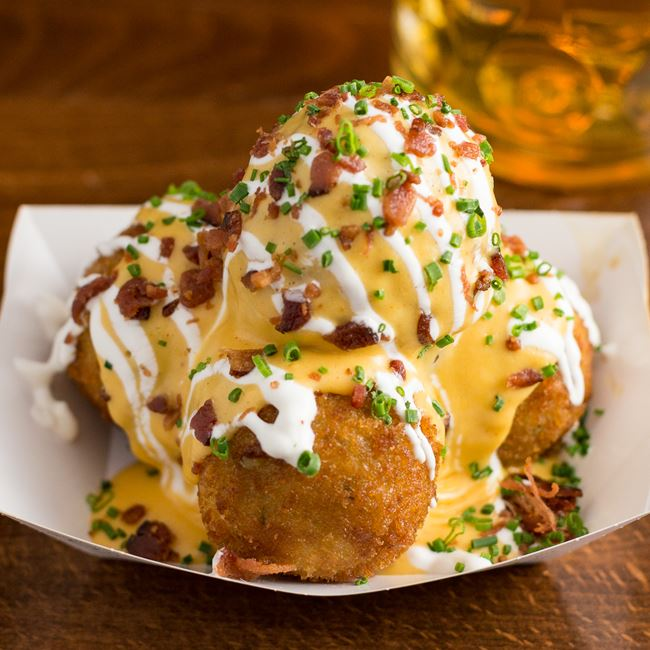 Baked Potato Balls