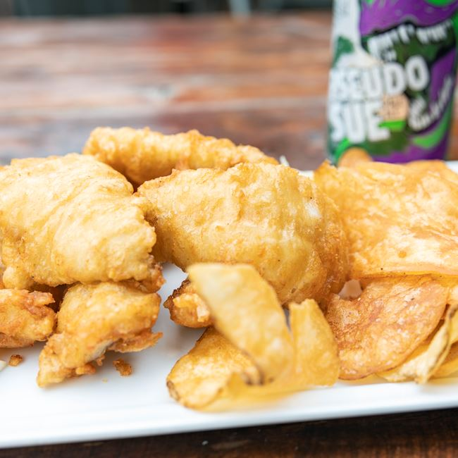AYCE Beer Battered Pollock