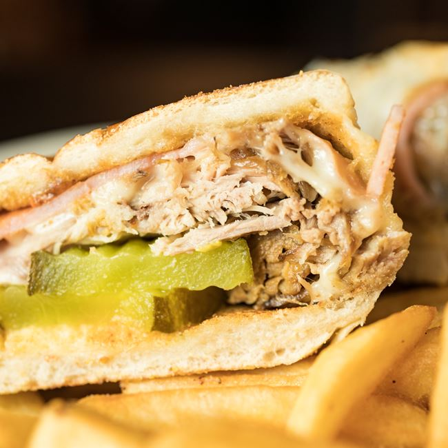 Cuban Sandwich at Judy's Kitchen