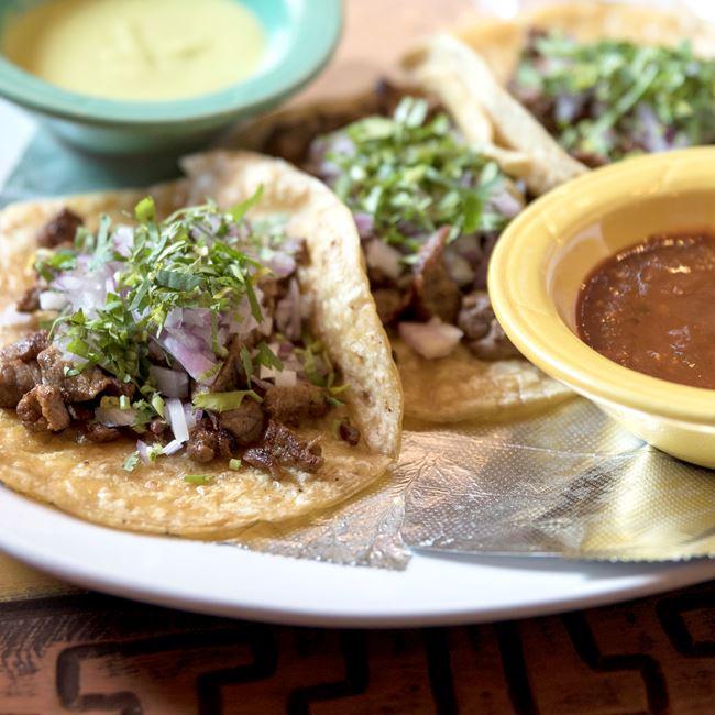 Tacos De Carne Asada at Los Jaripeos