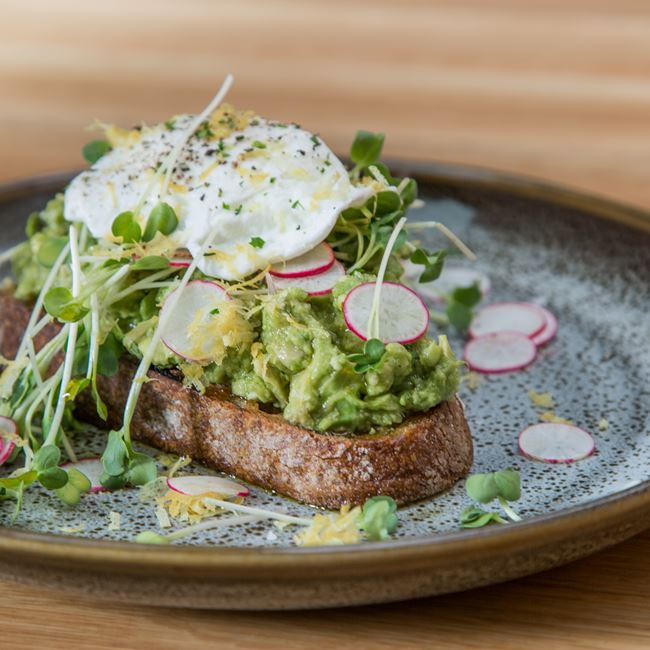 Avocado Toast at Tre Rivali