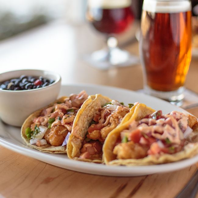 Fish Tacos at St. Francis Brewery & Restaurant