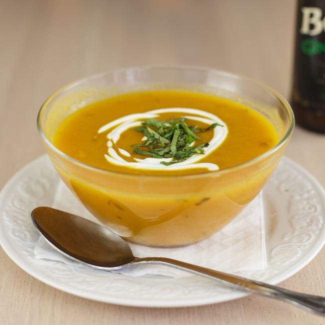 Carrot & Cilantro Soup