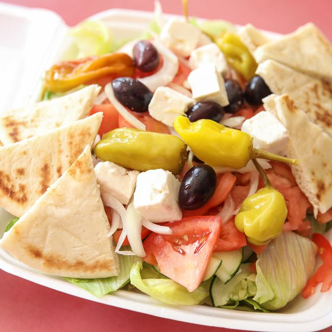 Greek Salad at Niko's Gyros