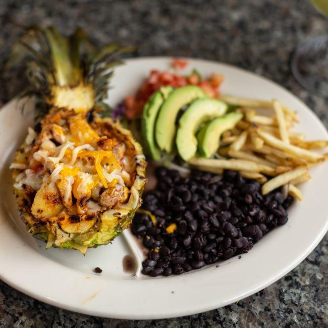 Pina Rellena Fajita at El Mezcal Mexican Restaurant