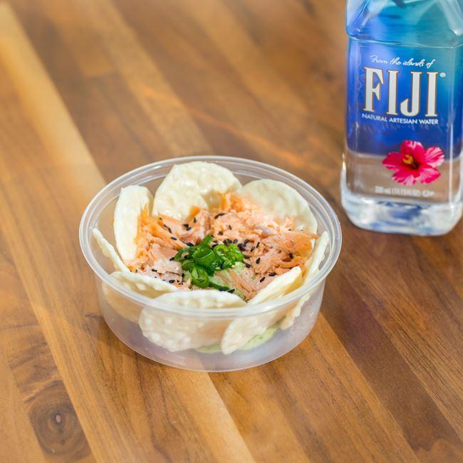 Edamame Hummus at FreshFin Poké