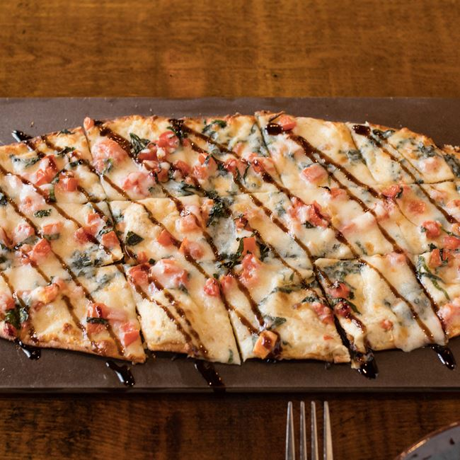 Caprese Flatbread at Cowboy Jack's