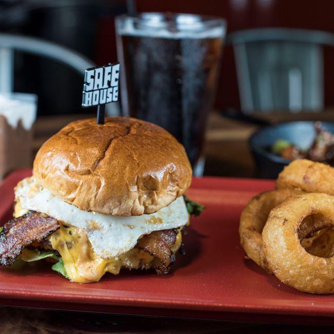 MOAB* Chicago's #1 Burger at SafeHouse