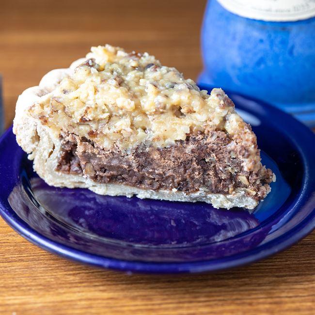 German Chocolate Fudge Pie at Caramel Crisp & Cafe