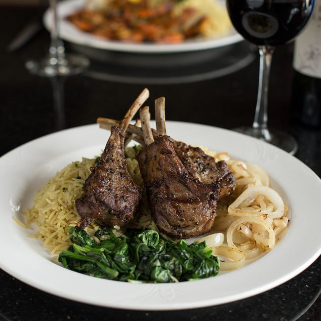 Lamb Chops at Casablanca