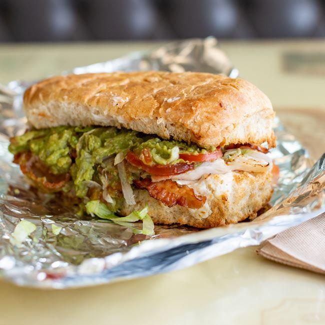 Green Turkey Sub at Yello Sub