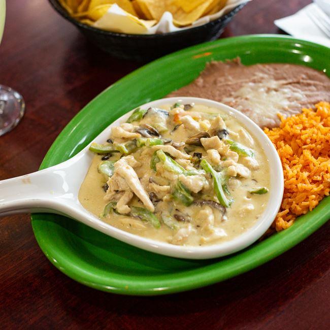 Pollo Moreno at Acapulco Mexican Restaurant
