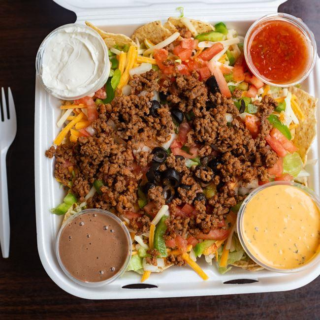 Taco Salad at Pizza Bob's