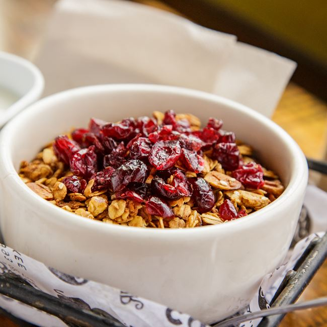 Granola & Milk at Colectivo Coffee