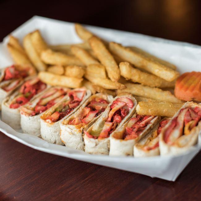 Spicy Chicken Shawarma - Regular Pita Combo at Shawarma House