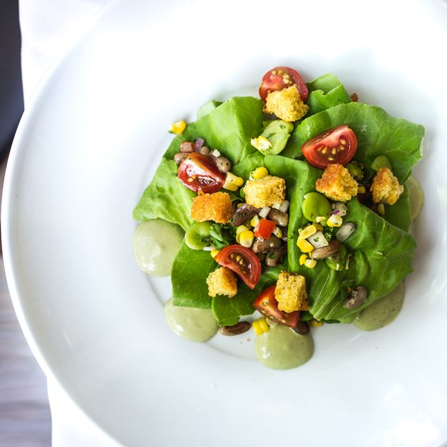 Bibb Lettuce Salad at Julep's