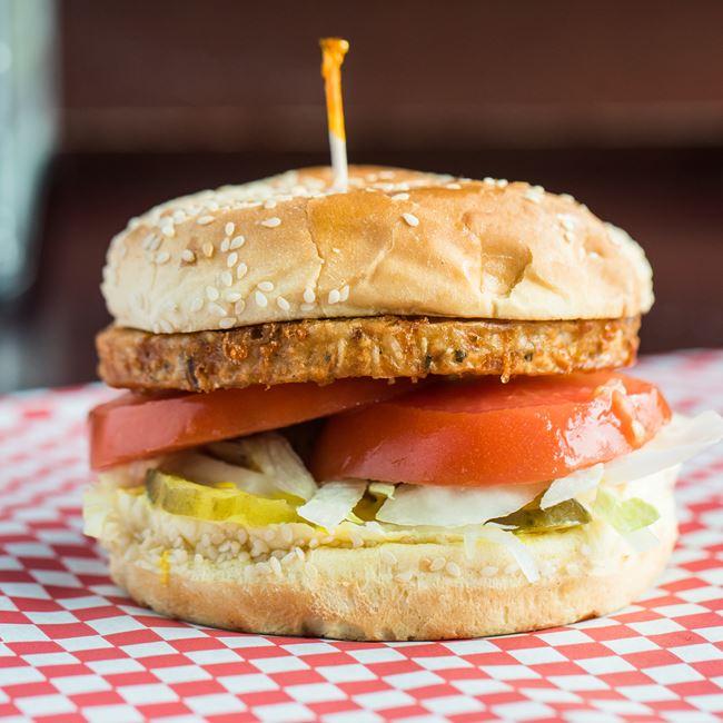 Garden Burger at Carytown Burgers & Fries