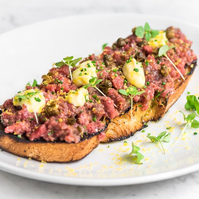 Steak Tartare at Third Coast Provisions