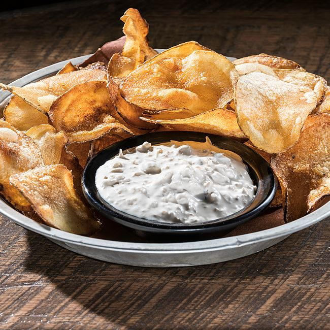 Smoked Onion Dip at DOC's Commerce Smokehouse