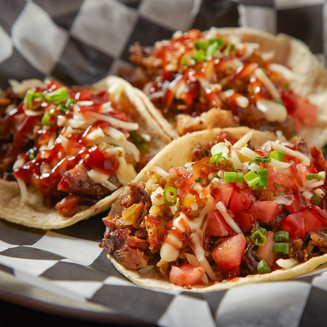 Smokehouse Tacos at ChiSox Bar & Grill